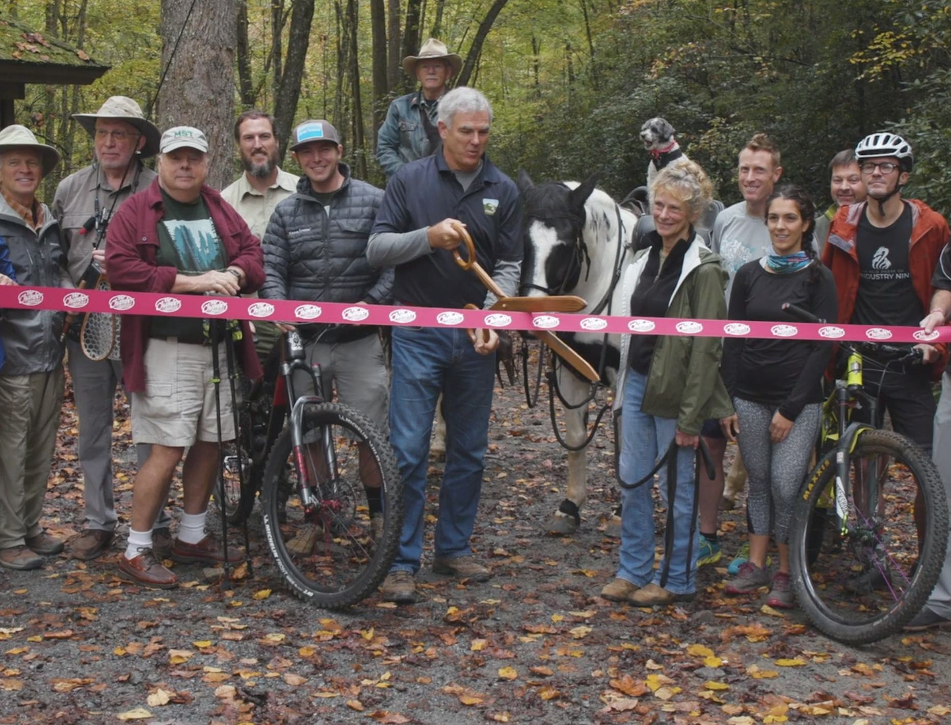 Ribbon Cutting at Cantrell Creek Trail